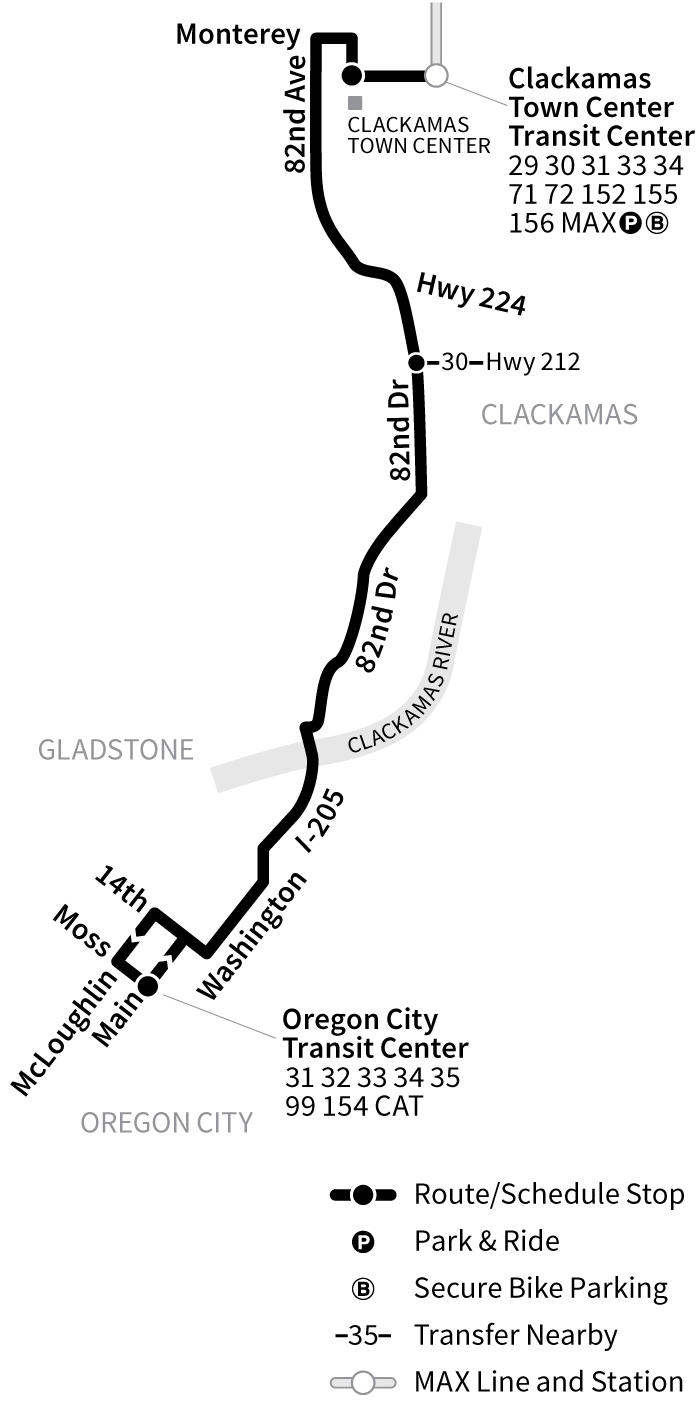 Bus Line 79 route map