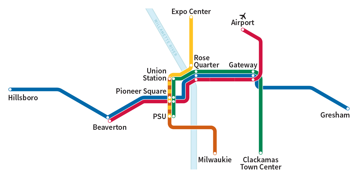 Max Blue Line Map And Schedule